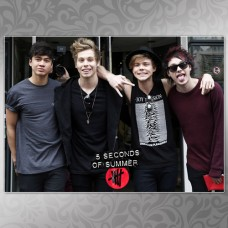Плакат 5 Seconds of Summer 09